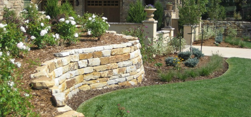 Retaining walls and pavers in augusta ga